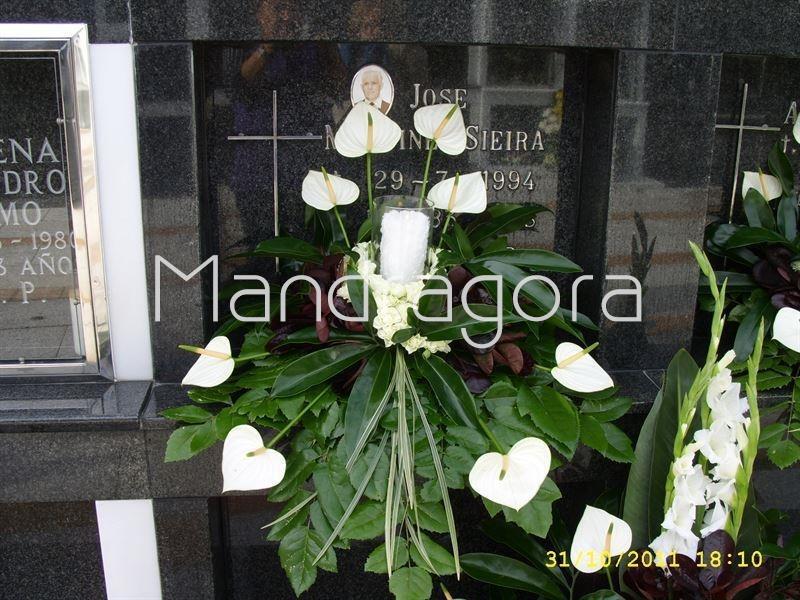 Centros De Flores Para Cementerio